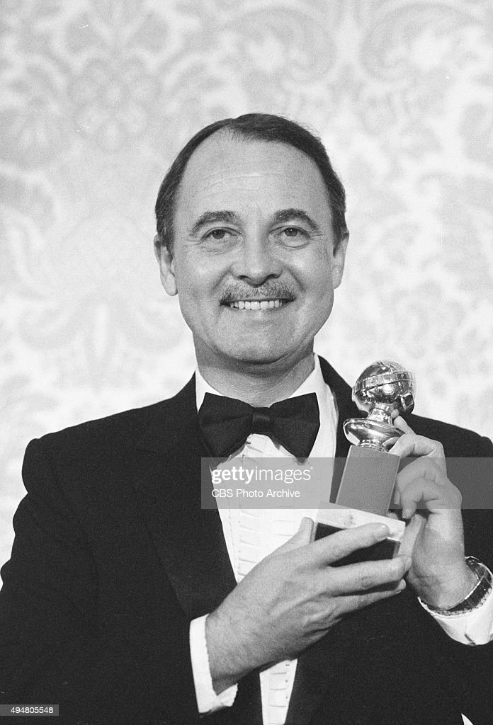 John Hillerman, winner of the Golden Globe Awards category Best Supporting Actor. Image dated January 30, 1982. Hollywood, CA.