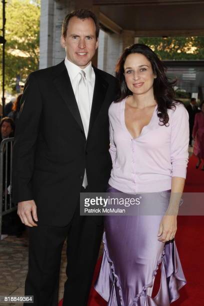 John Hontz and Reina Hontz attend NEW YORK CITY BALLET Spring Gala 2010 Arrivals at Lincoln Center on April 29 2010 in New York