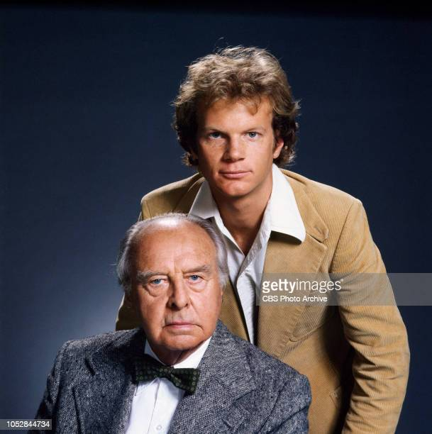 John Houseman and James Stephens star in The Paper Chase a CBS television drama about the intense competition among students in law school Image...