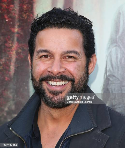 John Huerta attends the premiere of Warner Bros' 'The Curse Of La Llorona' at the Egyptian Theatre on April 15 2019 in Hollywood California