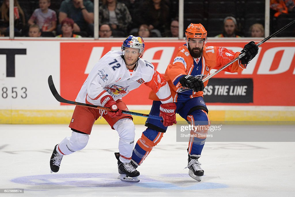 GBR: Sheffield Steelers v Red Bull Salzburg - Champions Hockey League