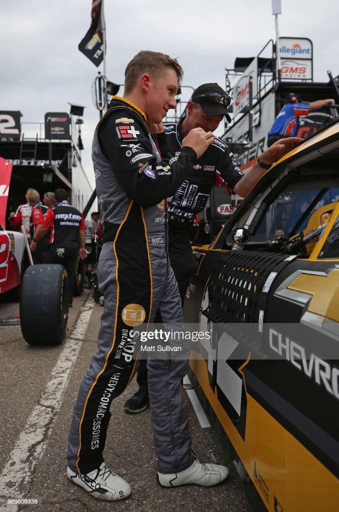 NASCAR Xfinity Series LTi Printing 250 - Practice : News Photo