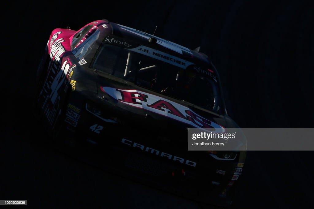 NASCAR Xfinity Series Kansas Lottery 300 : News Photo