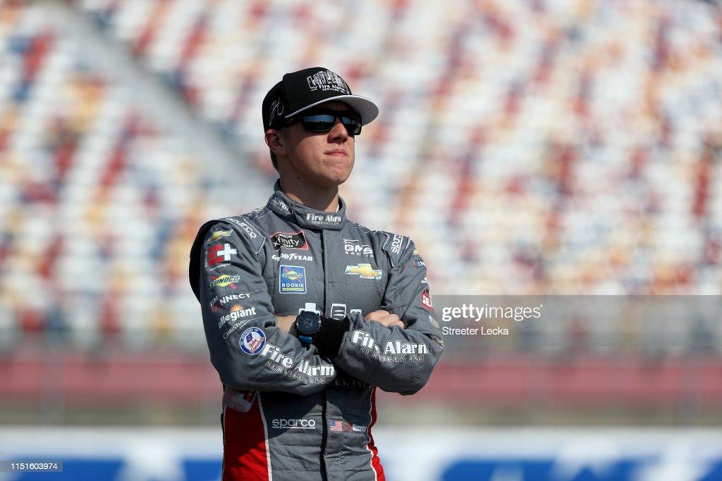 NASCAR Xfinity Series Alsco 300 - Qualifying : News Photo