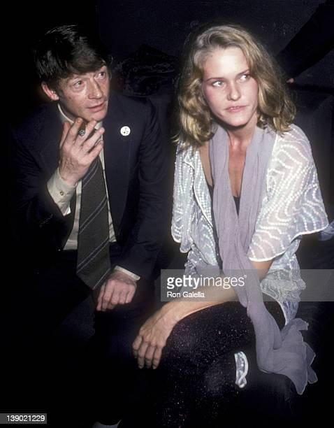 John Hurt and Arnella Flynn attends the premiere party for The Elephant Man on October 2 1980 at Magique in New York City