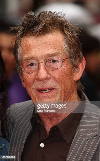 John Hurt attends the UK Premiere of Harry Potter and the Half-Blood Prince at Odeon Leicester Square on July 7, 2009 in London, England.