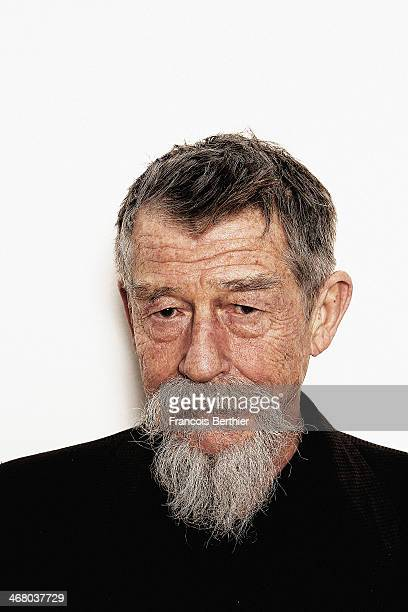 John Hurt by Photographer Francois Berthier for the Contour Collection poses during the 'Snowpiercer' Portrait Session at the 64th Berlinale...