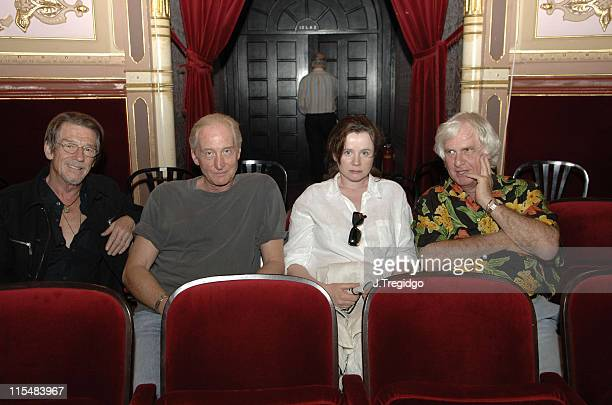 John Hurt, Charles Dance, Emily Watson and Peter Medak