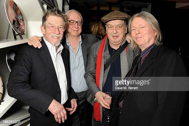 John Hurt Don Boyd Stephen Frears and Christopher Hampton attend the Liberatum Cultural Honour for actor John Hurt in association with artist...