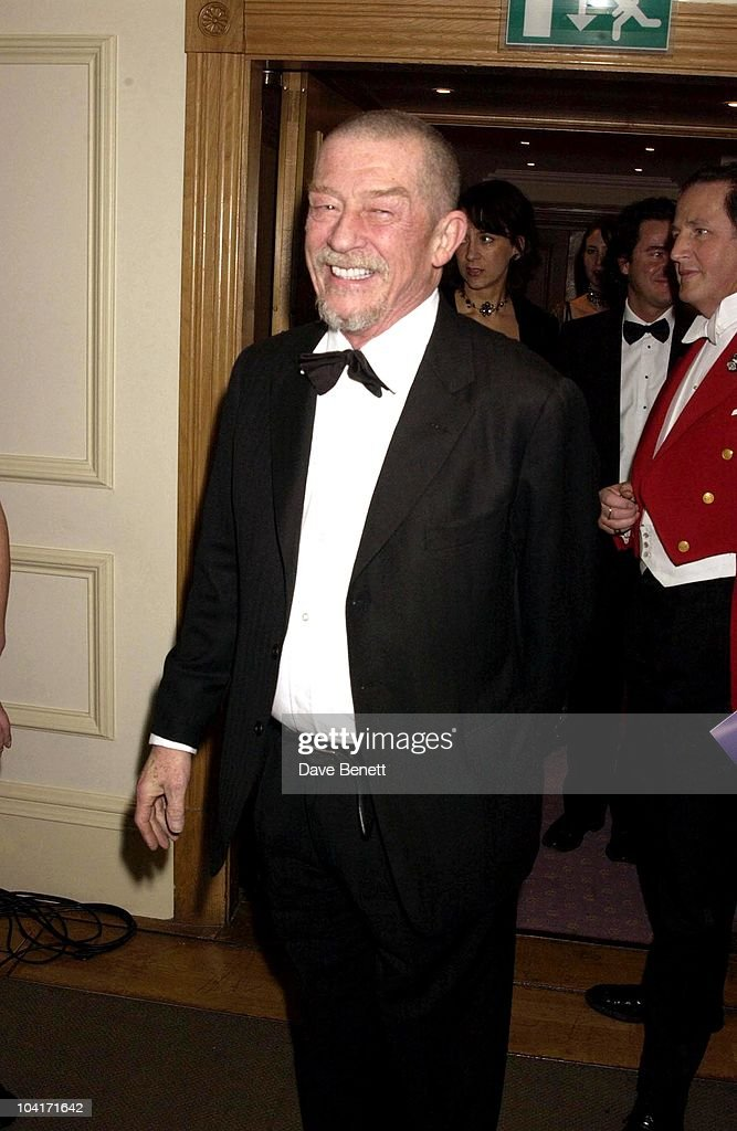 John Hurt, The Evening Standard Film Awards, At The Savoy Hotel In London