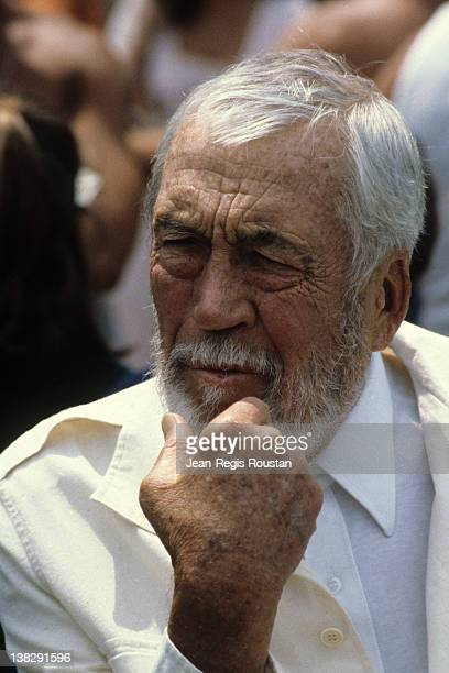 John Huston American director United States 1980