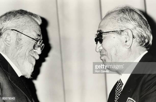 John Huston and Akira Kurosawa