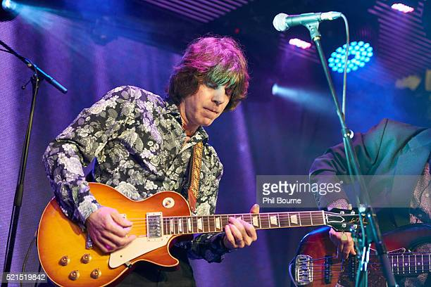 John Idan of The Yardbirds performing at Under The Bridge on April 15 2016 in London England