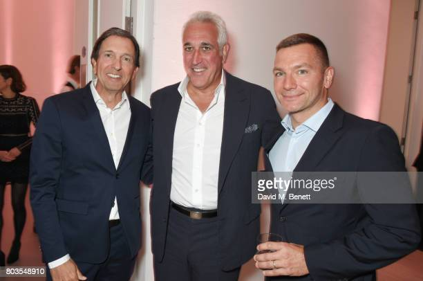 John Idol Michael Kors CEO Lawrence Stroll and Cedric Wilmotte attend Tatler's English Roses an event celebrating up and coming British girls hosted...