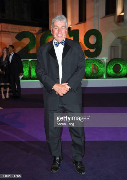 John Inverdale attends the Wimbledon Champions Dinner at The Guildhall on July 14 2019 in London England