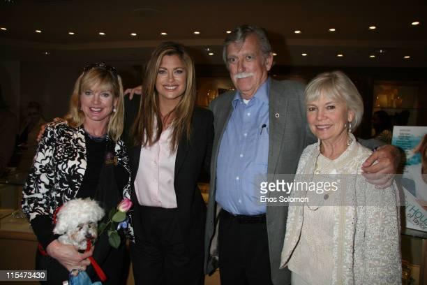 John Ireland, Kathy Ireland, Barbara Ireland and Mary Ireland