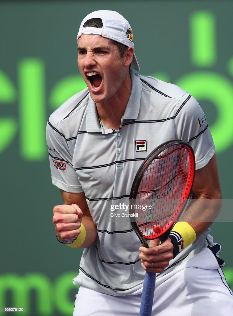 Miami Open 2018 - Day 10 : Nachrichtenfoto