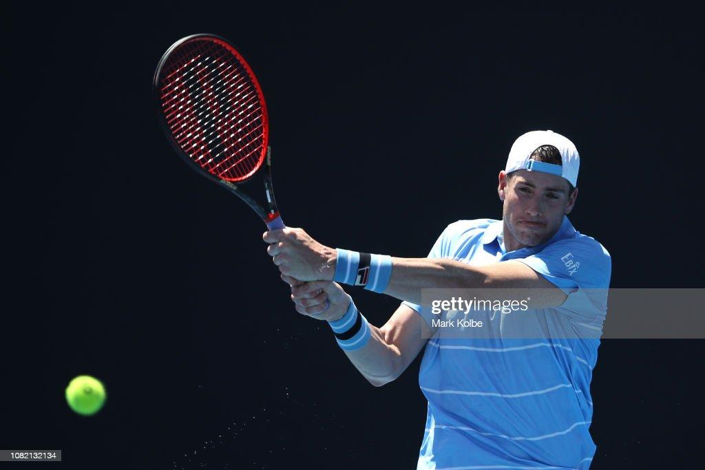 2019 Australian Open - Day 1 : News Photo