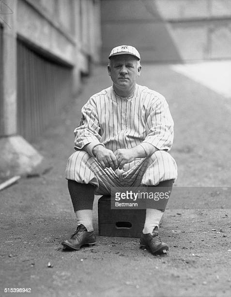 John J. McGraw, Manager Of The New York Giants Signs Up Players.
