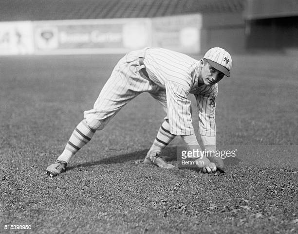 John J. McGraw, Manager Of The New York Giants Signs Up Players. Walter McPhee of Princeton--crack second baseman.