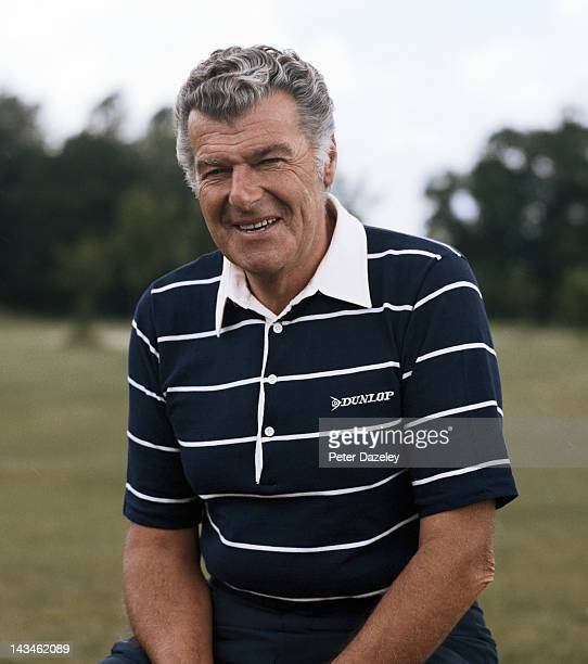 John Jacobs of England during the Whyte and McKay PGA Championship on the West Course at The Wentworth Club on May 25 1987 in London England