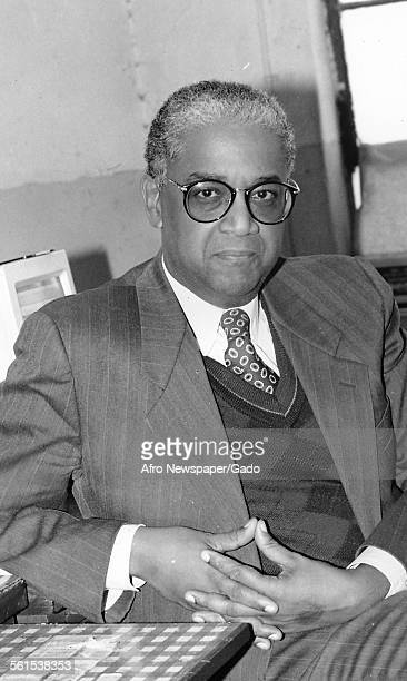 John Jake Oliver publisher of the Afro American newspaper and owner Baltimore Maryland 1961