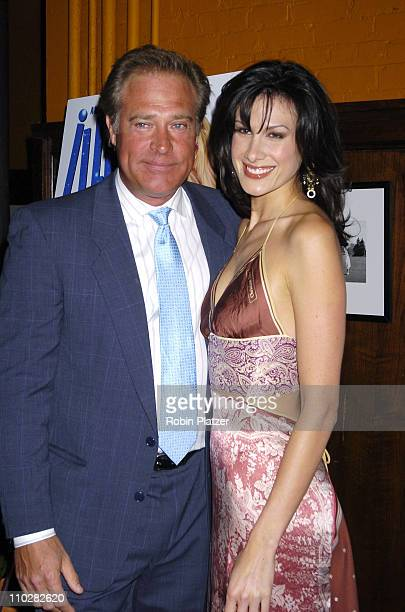 John James and Lenise Soren during 'Illegal Aliens' Preview March 1 2006 at Tribeca Cinemas in New York City New York United States