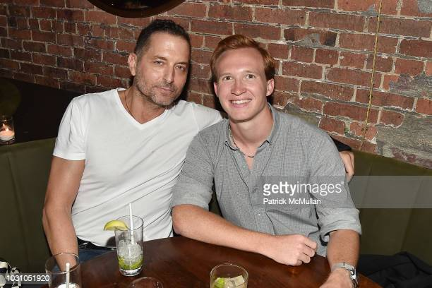 John James and Palmer Taipale attend the Nicole Miller Spring 2019 After Party at Acme on September 6 2018 in New York City