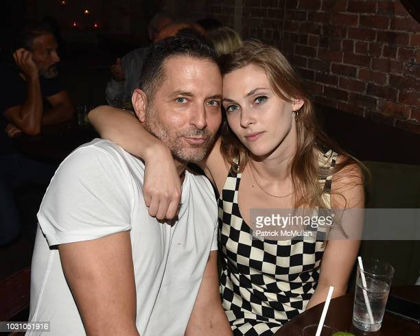 John James and Sydney Curley attend the Nicole Miller Spring 2019 After Party at Acme on September 6 2018 in New York City