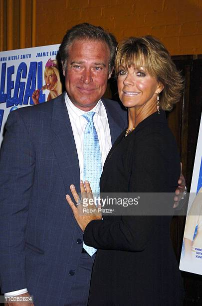 John James and wife Denise during 'Illegal Aliens' Preview March 1 2006 at Tribeca Cinemas in New York City New York United States