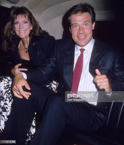 John James and wife Denise during John James and wife Denise at Le Caprice Restaurant at Le Caprice in London Great Britain