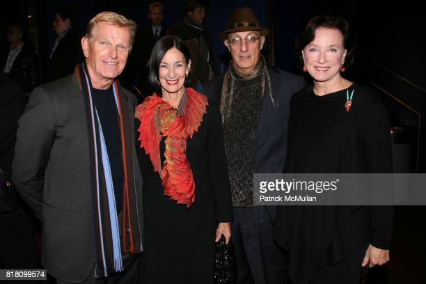 John Janas Amy Rosi Peter Rosenthal and Anne Janas attend MAUBOUSSIN and ELSA ZYLBERSTEIN present 'Van Gogh' the film at Tinker Auditorium on...