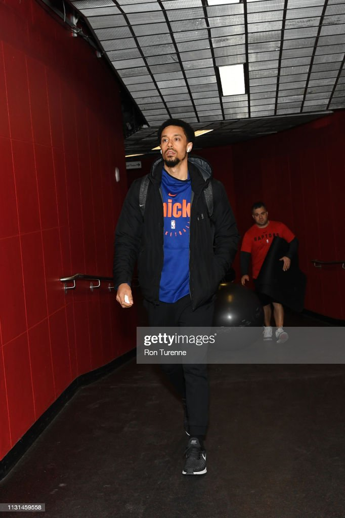 CAN: New York Knicks v Toronto Raptors
