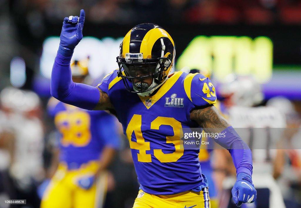 Super Bowl LIII - New England Patriots v Los Angeles Rams : News Photo