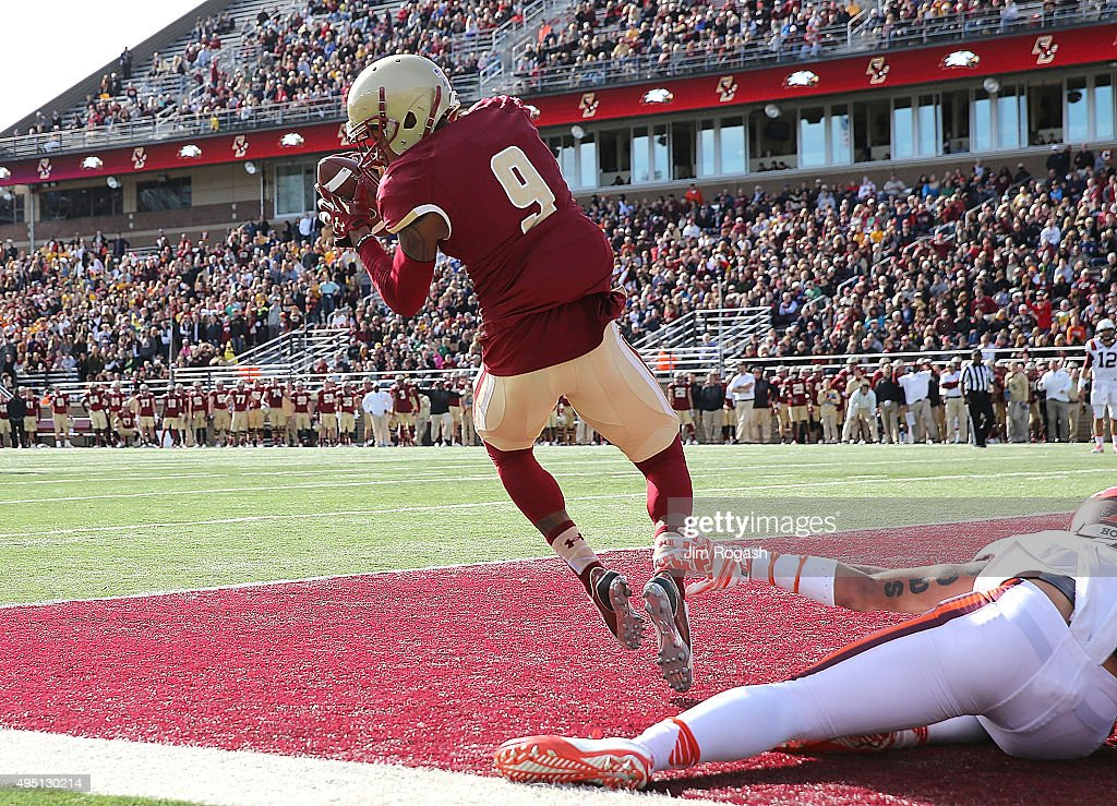Virginia Tech v Boston College : News Photo