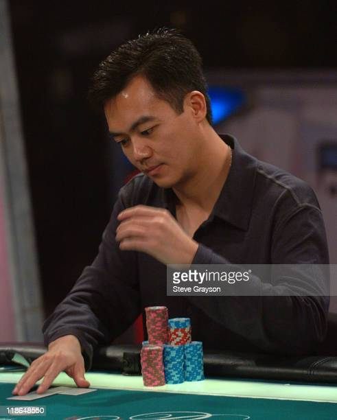 John Juanda competes at the final table of six players of the World Poker Tour's Doyle Brunson North American Poker Championship at the Bellagio...