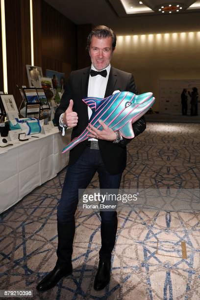 John Juergens attends the charity event Dolphin's Night at InterContinental Hotel on November 25 2017 in Duesseldorf Germany