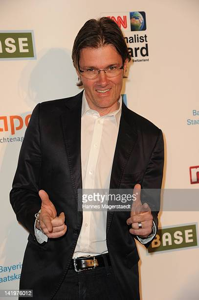John Juergens attends the CNN Journalist Award 2012 at the GOP Variete Theater on March 27, 2012 in Munich, Germany.