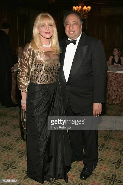 John K Castle and Margo Catsimatidis attend the Bal Du Prentemps Benefit for the Parkinsons Disease Foundation on May 18 2004 in New York City
