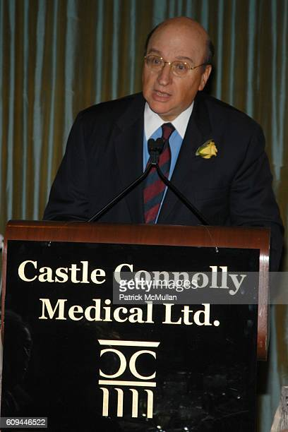 John K. Castle attends Castle Connolly Medical Ltd. National Physician of the Year Awards at The Pierre on March 13, 2007 in New York City.