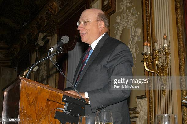 John K. Castle attends The First Annual National Physician of the Year Awards at Metropolitan Club on March 15, 2006 in New York City.