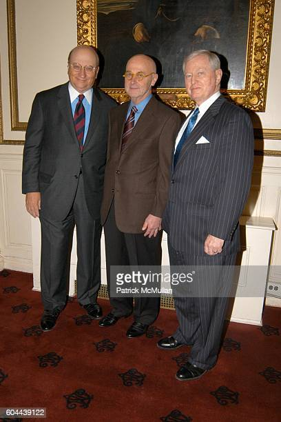 John K. Castle, Dr. Bart Barlogie and Dr. John J. Connolly attend The First Annual National Physician of the Year Awards at Metropolitan Club on...