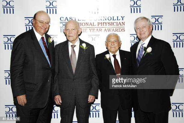 John K. Castle, Dr. Basil I. Hirschowitz, Dr. Leonard Apt and Dr. John J. Connolly attend CASTLE CONNOLLY Medical Ltd. 5th Annual National Physician...