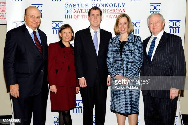 John K. Castle, Dr. Diane E. Meier, Dr. Judd W. Moul, Dr. Carol R. Bradford and Dr. John J. Connolly attend CASTLE CONNOLLY Medical Ltd. Presents...