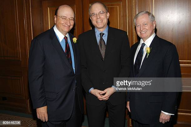 John K. Castle, Dr. Jay Adlersberg and Dr. John J. Connolly attend Castle Connolly Medical Ltd. National Physician of the Year Awards at The Pierre...