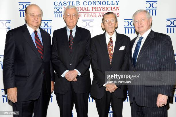 John K. Castle, Dr. Jeremiah Barondess, Dr. Arthur Hull Hayes and Dr. John J. Connolly attend CASTLE CONNOLLY Medical Ltd. Presents NATIONAL...