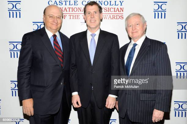 John K. Castle, Dr. Judd W. Moul and Dr. John J. Connolly attend CASTLE CONNOLLY Medical Ltd. Presents NATIONAL PHYSICIAN OF THE YEAR AWARDS at 145 W...