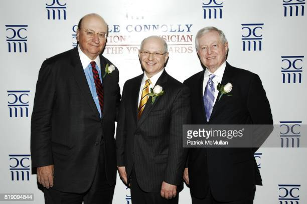 John K. Castle, Dr. Larry Norton and Dr. John J. Connolly attend CASTLE CONNOLLY Medical Ltd. 5th Annual National Physician of the Year Awards at The...