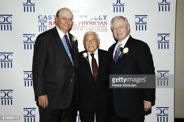John K. Castle, Dr. Leonard Apt and Dr. John J. Connolly attend CASTLE CONNOLLY Medical Ltd. 5th Annual National Physician of the Year Awards at The...