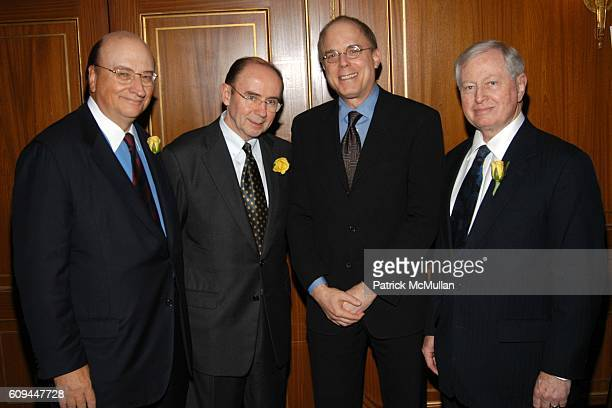 John K. Castle, Dr. Patrick C. Walsh, Dr. Jay Adlersberg and Dr. John J. Connolly attend Castle Connolly Medical Ltd. National Physician of the Year...